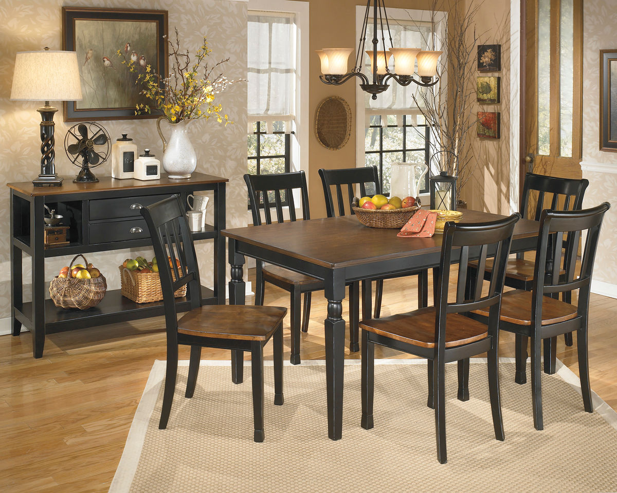 extendable dining room table by signature design by ashley. dining room sets extendable table by signature design ashley